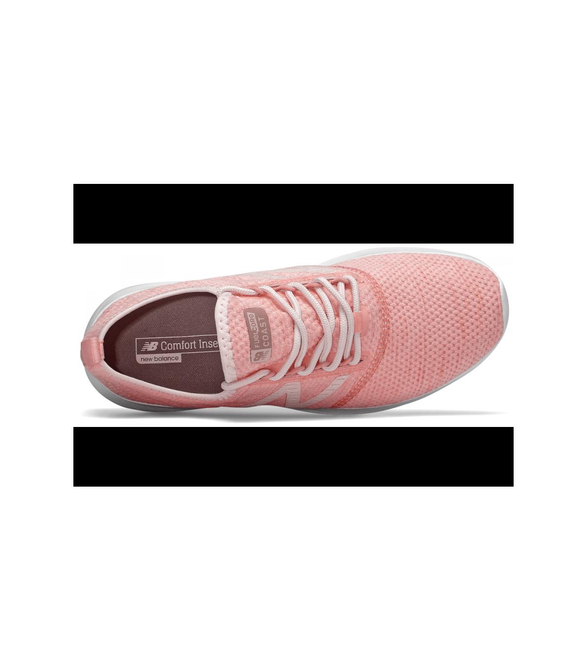 zapatillas new balance fuel core coast v4 para mujer